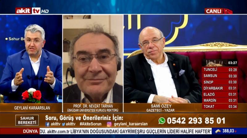 Prof. Dr. Nevzat Tarhan: Koronavirüste Tünelin Ucu Göründü!