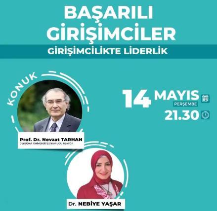 """Prof. Dr. Nevzat Tarhan: """"Merak ve Hayret Girişimciliğin En Önemli Motoru"""""""