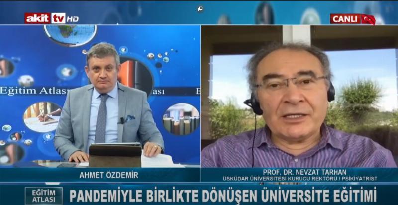 """Prof. Dr. Nevzat Tarhan: """"Pandemi döneminde uzaktan eğitimde model oluşturduk"""""""