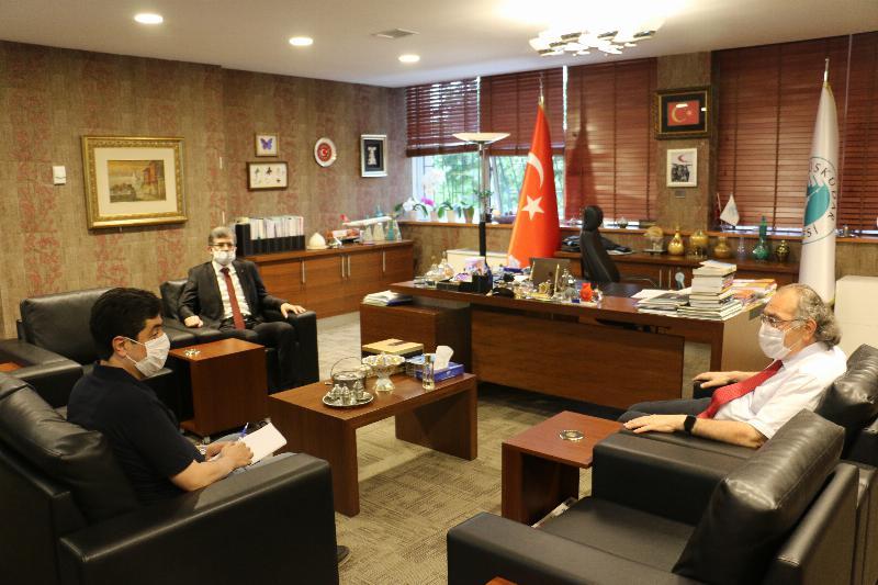 TİHEK Başkanı'ndan Prof. Dr. Nevzat Tarhan'a Ziyaret