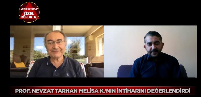 Prof. Dr. Nevzat Tarhan, Melisa K.'nın intiharını değerlendirdi