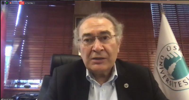 """Prof. Dr. Nevzat Tarhan: """"Pandemi Döneminde İletişimin Önemi Ortaya Çıktı"""""""