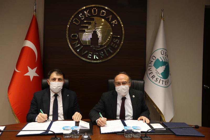 Üsküdar ile Azerbaycan İlahiyat Enstitüsü Arasında İşbirliği Protokolü İmzalandı