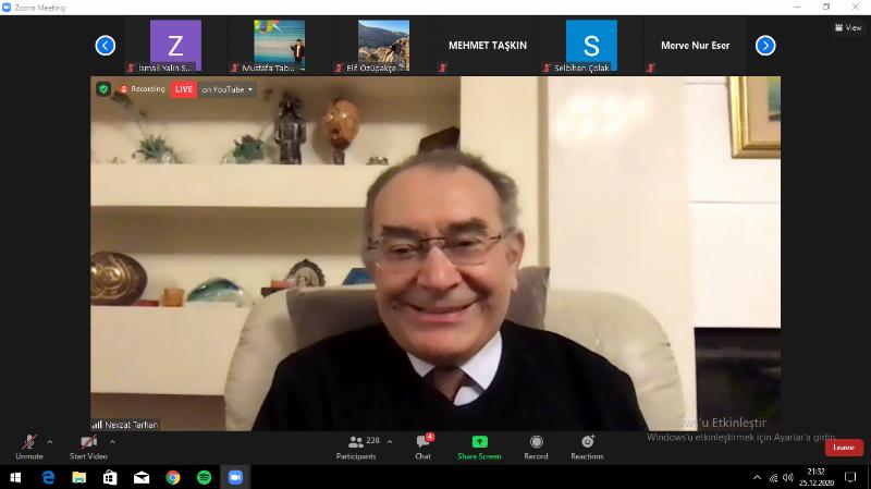 """Prof. Dr. Nevzat Tarhan: """"Aile Sağlıklı ve Sıcak Olması Gereken Bir Sığınak"""""""