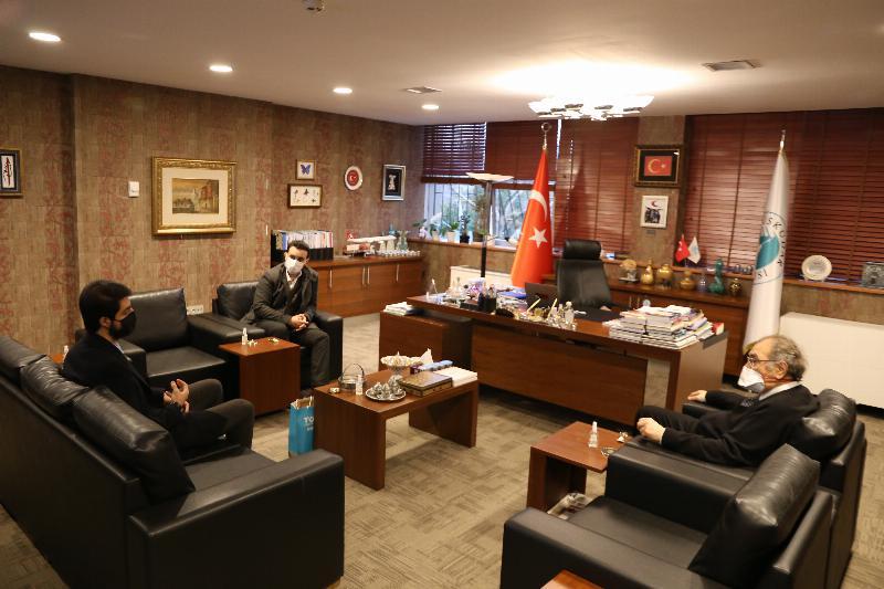 TÜGVA'dan Prof. Dr. Nevzat Tarhana' a Ziyaret