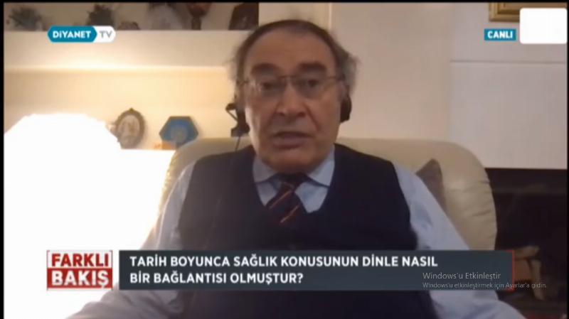 """Prof. Dr. Nevzat Tarhan: """"Pandemi Sürecinde Manevi Eğilim Arttı"""""""