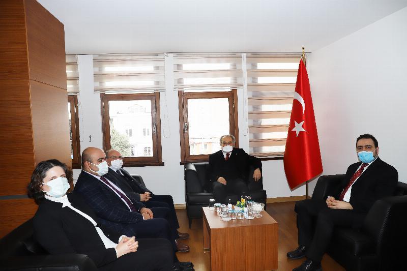 Üsküdar Üniversitesinden TÜSEB'e ziyaret