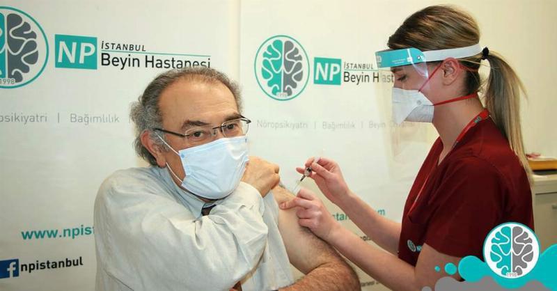 Tarhan'a Covid-19 Aşısının İkinci Dozu Yapıldı