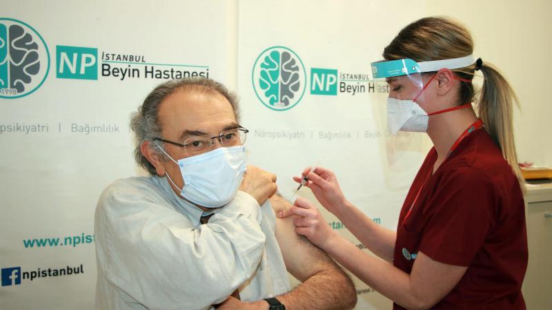 Prof. Dr. Tarhan'ın Antikor Sonuçları, İnaktif Aşının Etkili Olduğunu Gösterdi…