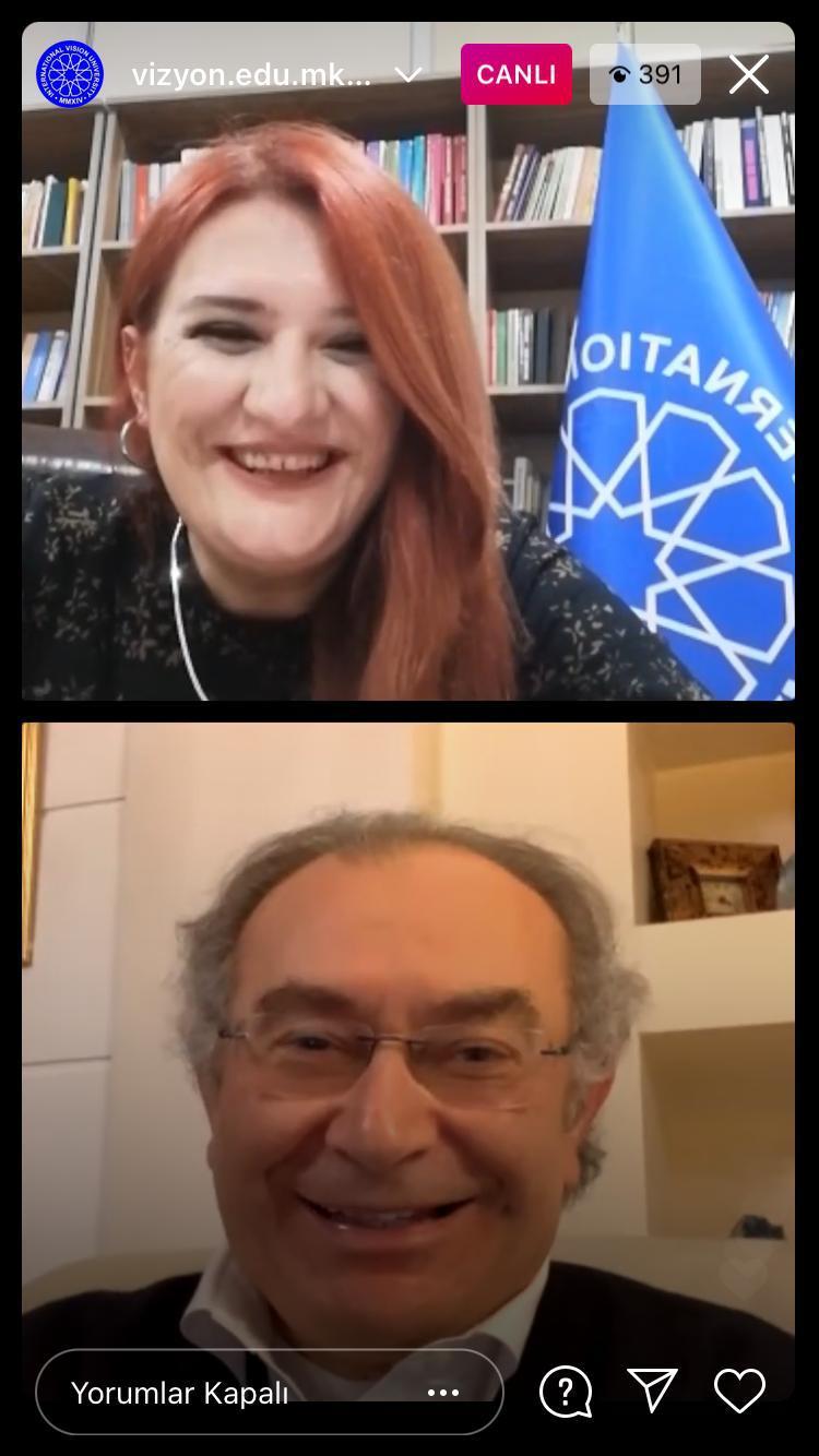 """Prof. Dr. Nevzat Tarhan: """"Z kuşağı esnek düşünme becerisine sahip"""""""