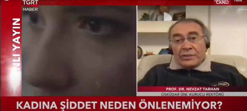 """Prof. Dr. Nevzat Tarhan: """" Psiko- Eğitimler şiddeti azaltır"""""""