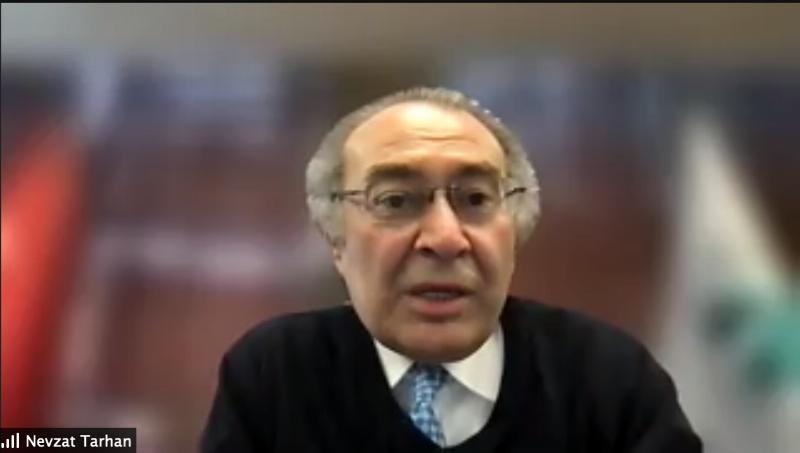 Prof. Dr. Tarhan'dan tıp öğrencilerine maydanoz örneği