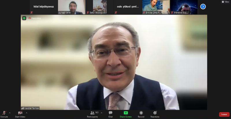 """Prof. Dr. Tarhan: """"21.yüzyıl becerilerinde önemli olan takım çalışmasıdır"""""""