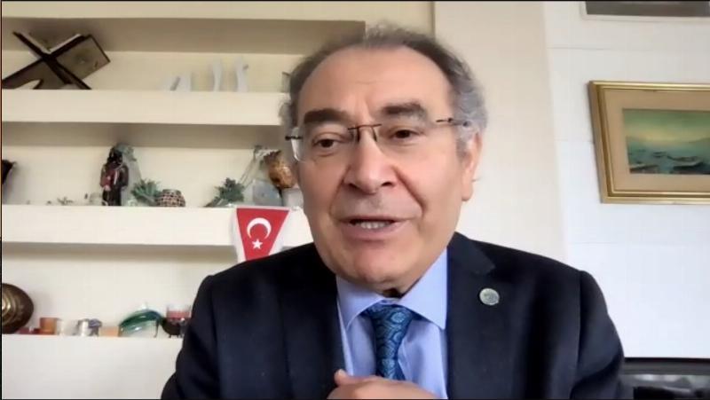 """Prof. Dr. Nevzat Tarhan: """"Çocuğun hayatına ilk dokunuşu ebe yapıyor"""""""