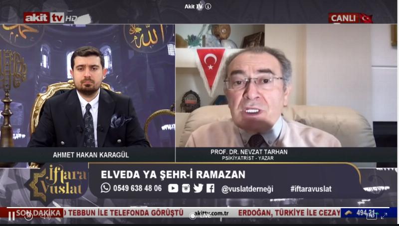 """Prof. Dr. Nevzat Tarhan: """"Mescid-i Aksa tüm Müslümanların meselesidir"""""""