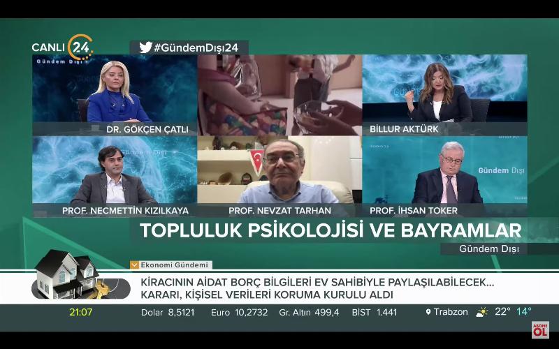 """Prof. Dr. Nevzat Tarhan: """"Bayramların ve Ramazan'ın suç önleyici yönü var"""""""