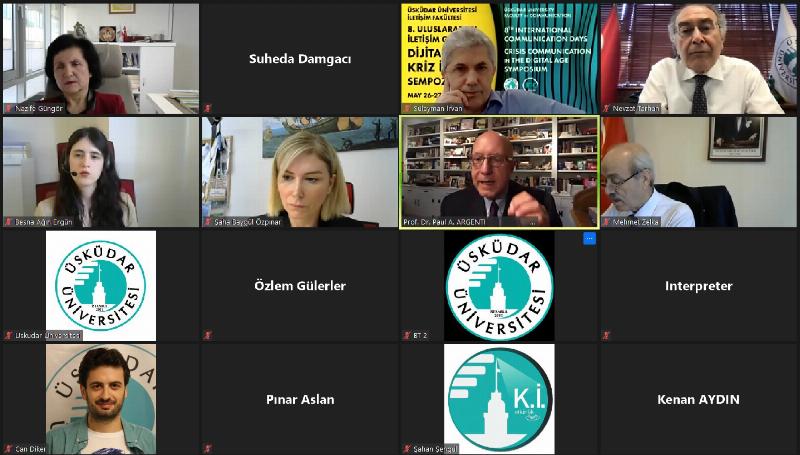 Pandemiyle şekillenen iletişim dünyası 8. Uluslararası İletişim Günleri'nde masaya yatırılıyor