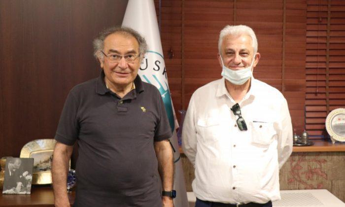Şenemre, Prof. Dr. Tarhan'ı ziyaret etti