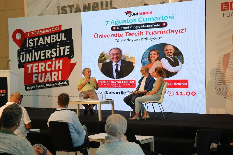 """Nevzat Tarhan ile """"Hayat Tercihtir"""" İstanbullu adaylarla buluştu…"""