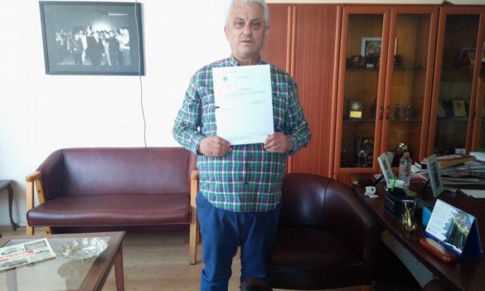 Üsküdar Üniversitesi Rektörü Prof. Dr. Tarhan'dan Şenemre'ye Teşekkür Mektubu