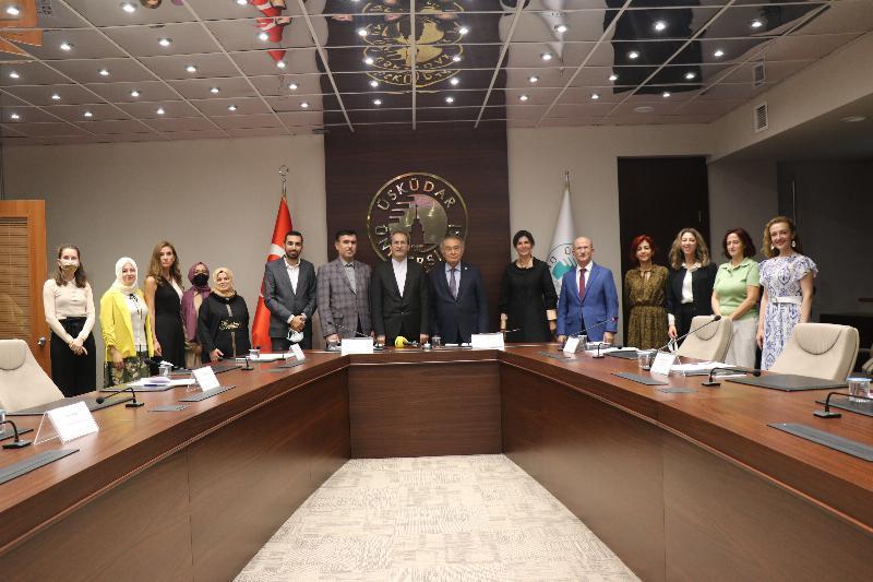 """Prof. Dr. Nevzat Tarhan: """"Dostluk ve kültür en önemli diplomatik alandır"""""""