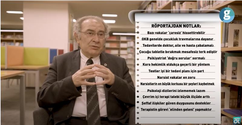 """Prof. Dr. Nevzat Tarhan: """"Kaç Hasta Tedavi Ettiğim Değil Kaç Kişiyi Hasta Olmaktan Koruduğum Önemli"""""""